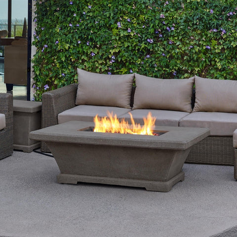 Monaco Low Rectangle Fire Table