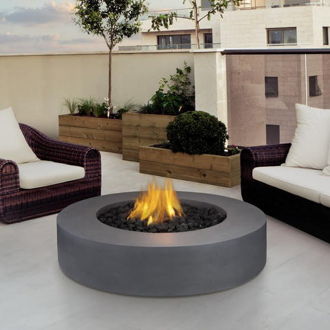 Mezzo Round Fire Table