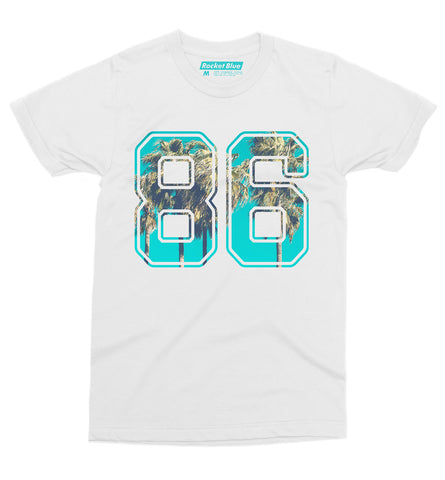 86 Tee - Rocket Blue Graphic T-Shirt