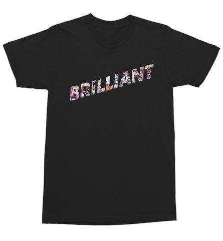 Brilliant Tee - Rocket Blue Graphic T-Shirt
