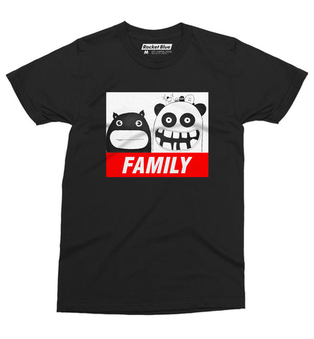 Family Tee - Rocket Blue Graphic T-Shirt