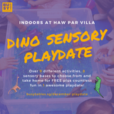 December Playdate - Sensory Play for Babies