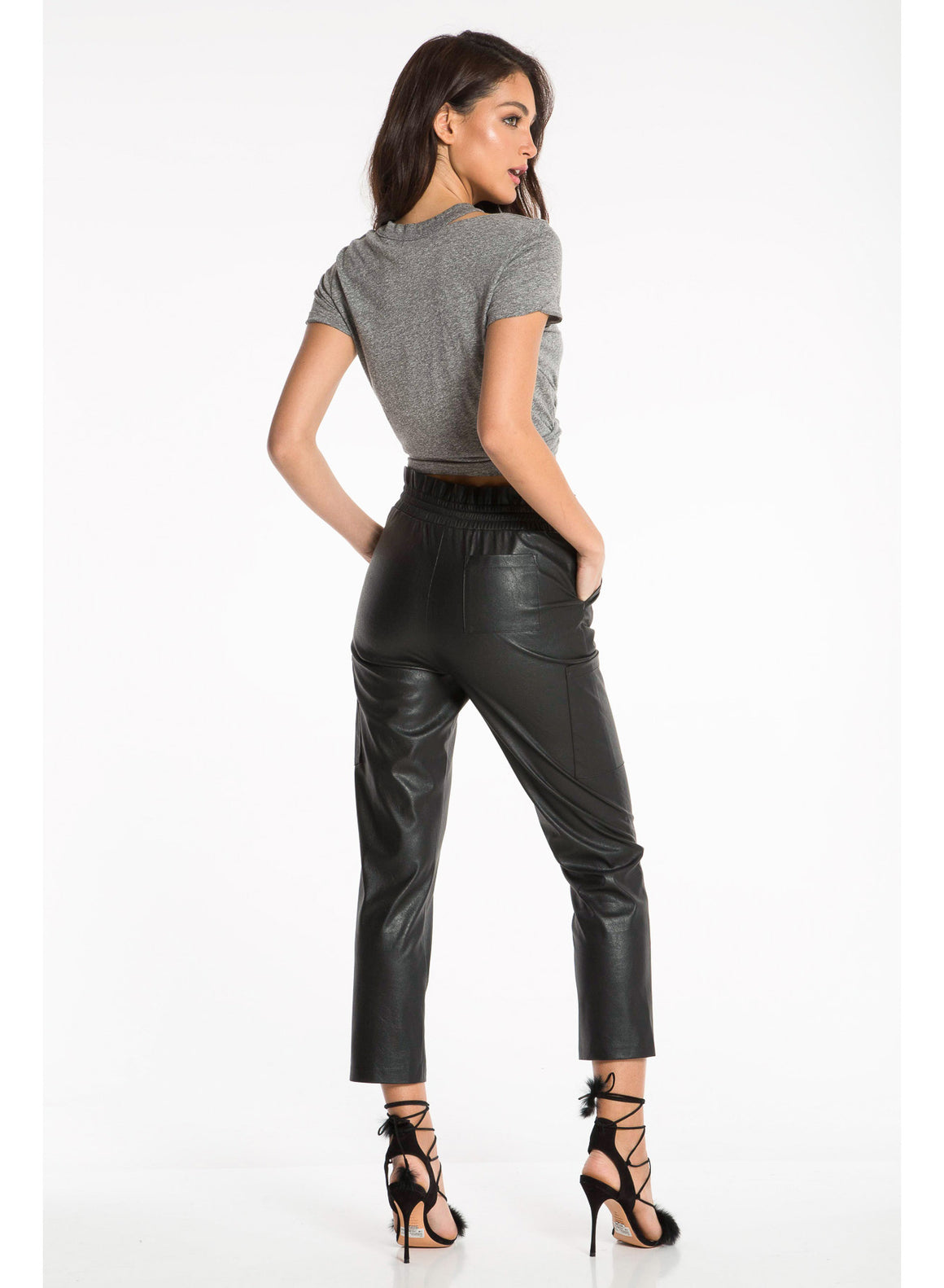 Morena Vegan Leather Pant
