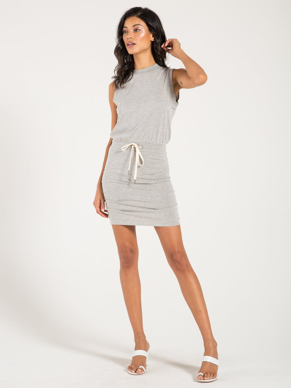 Gazer Dress - Heather Grey