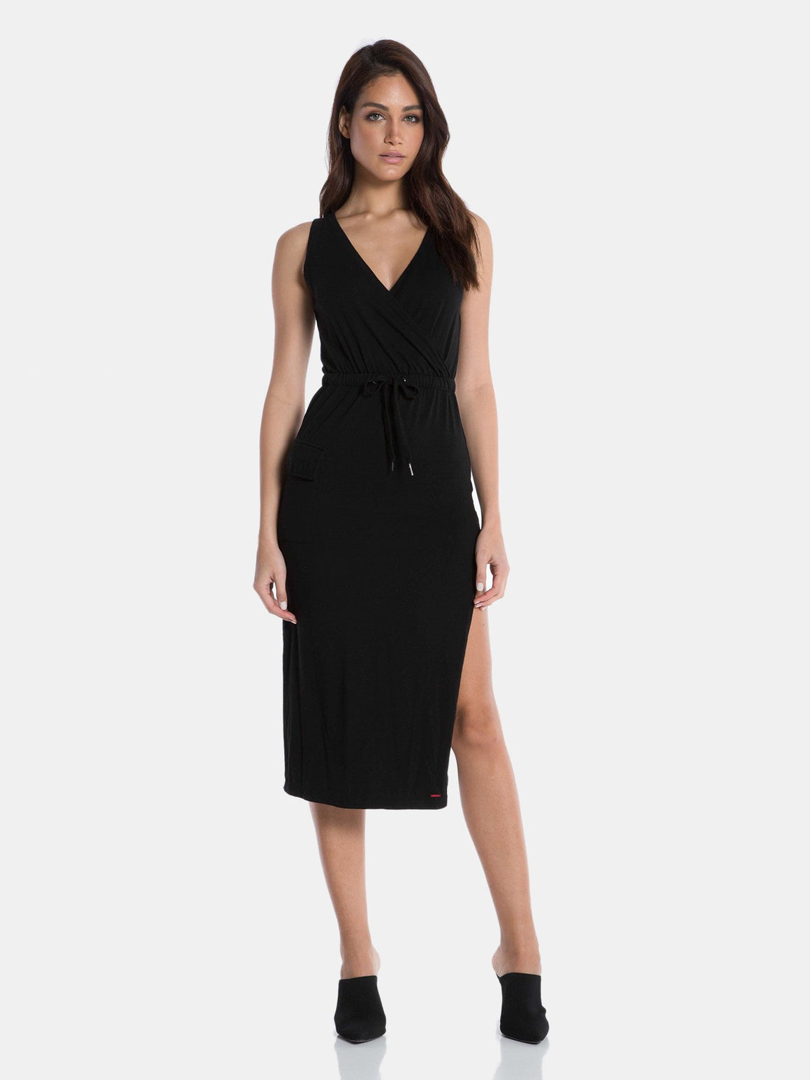 Rue Dress - Black Cat
