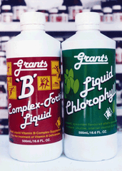 Grants Liquid Chlorophyll and Vitamin B