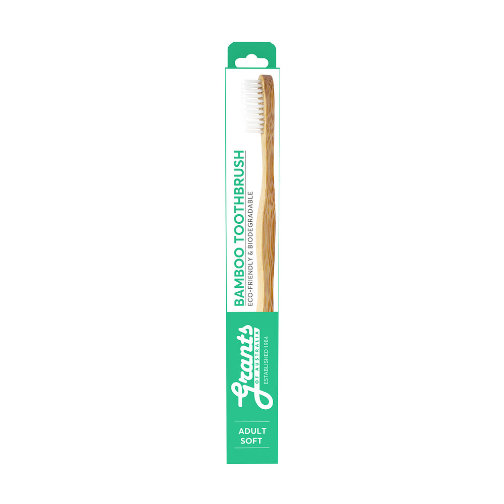 Adult Bamboo Toothbrush - Soft