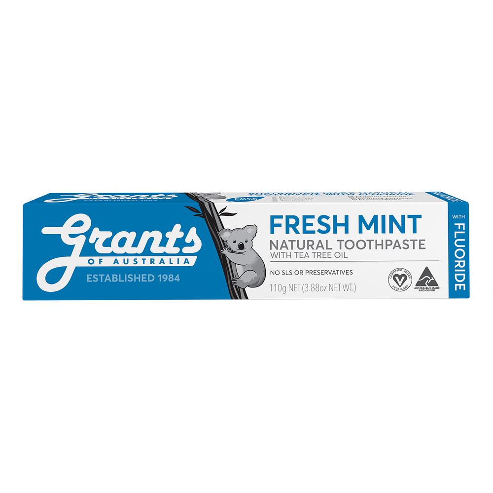 Fresh Mint with Fluoride Natural Toothpaste - 110g