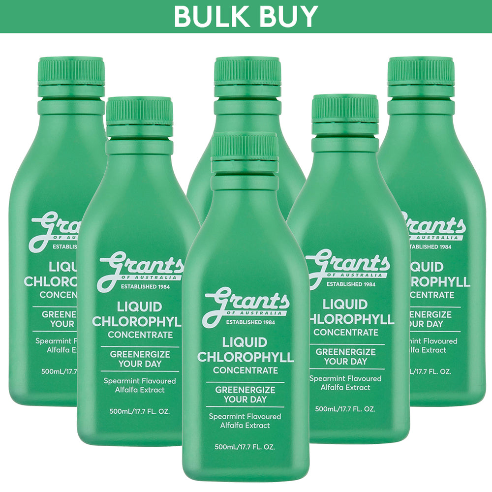Liquid Chlorophyll - 500mL - 6 bottles