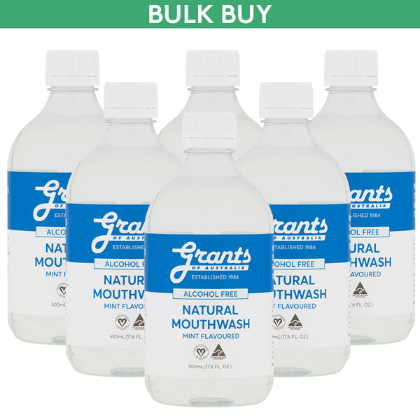 Bulk Buy Xylitol Natural Mouthwash - 6 bottles