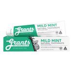 Mild Mint Natural Toothpaste - Fluoride Free - 110g