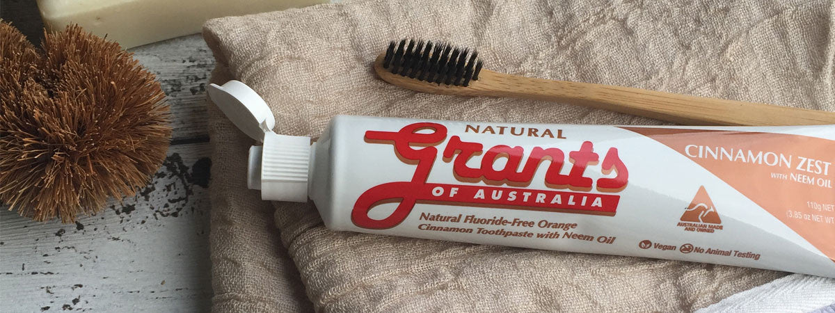 Grants Natural Vegan Toothpaste