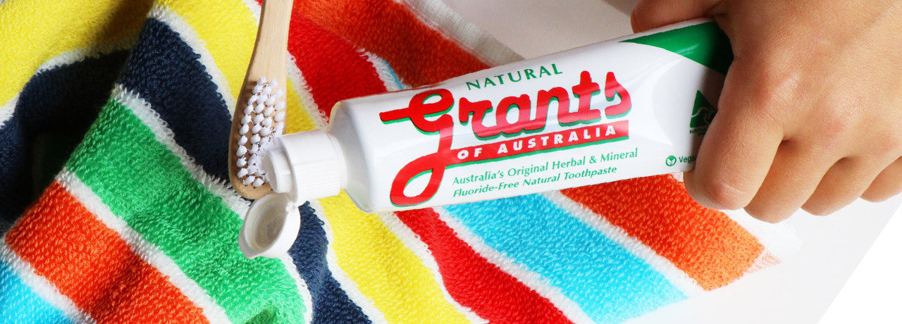 Grants toothpaste 4 flavours