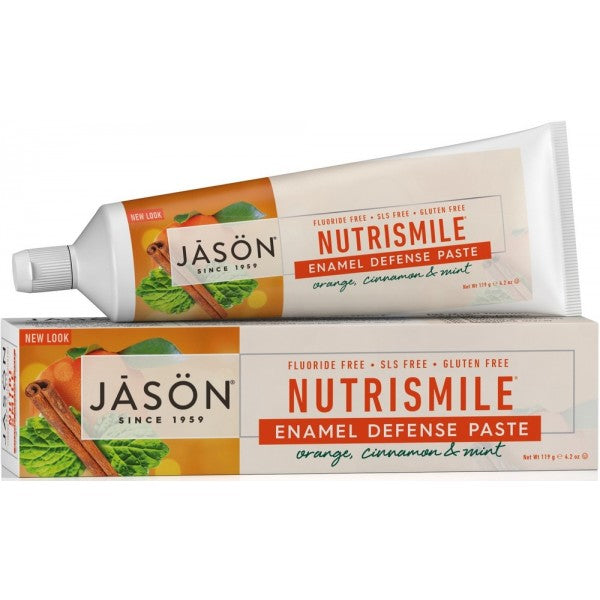 Jason - Nutrismile® Enamel Defense Toothpaste - Orange, Cinnamon & Min