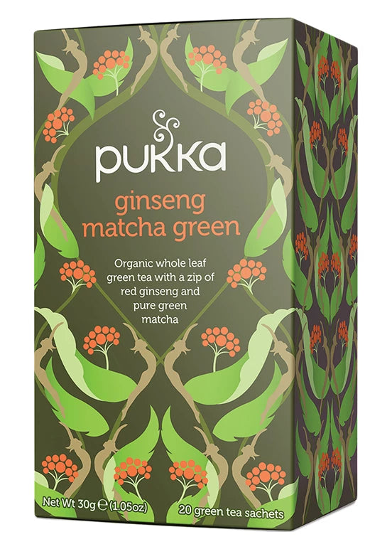 Pukka - Ginseng Matcha Green Tea 4 Box Pack