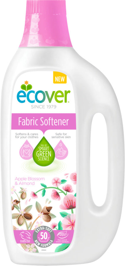 Ecover	Fabric Conditioner Apple	6x1.5L