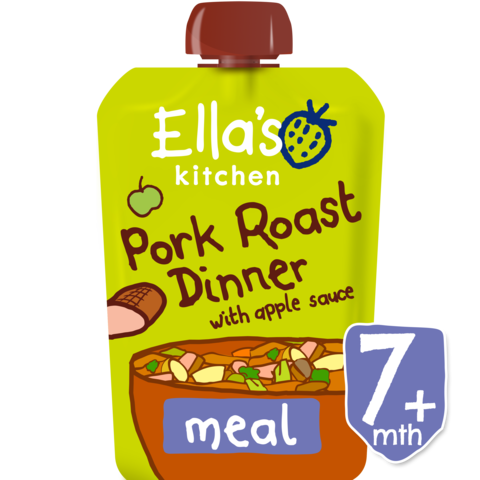 Ellas Kitchen	Roast Pork Dinner (Org)	6x130g