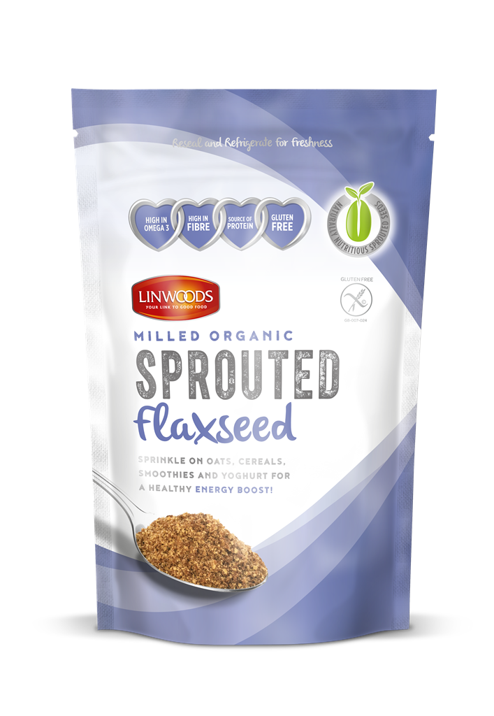 Linwoods	Milled SPROUTED Flaxseed Organic