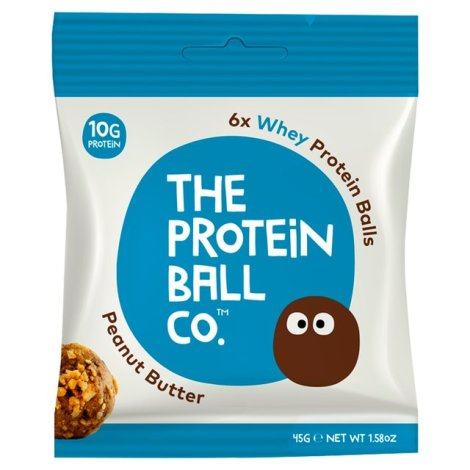 The Protein Ball Co - Peanut Butter Protein Balls 10 sachets pack