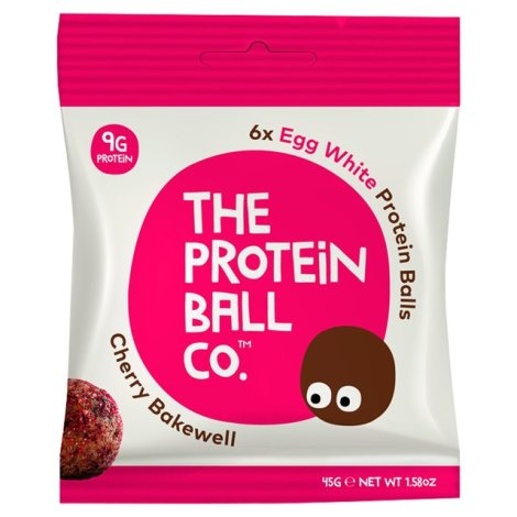 The Protein Ball Co - Cherry Bakewell Protein balls 10 sachets pack