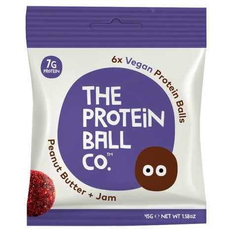 The Protein Ball Co - Peanut Butter + Jam Protein Ball 10 sachets pack
