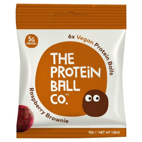 The Protein Ball Co - Raspberry Brownie Protein Ball 10 sachets pack