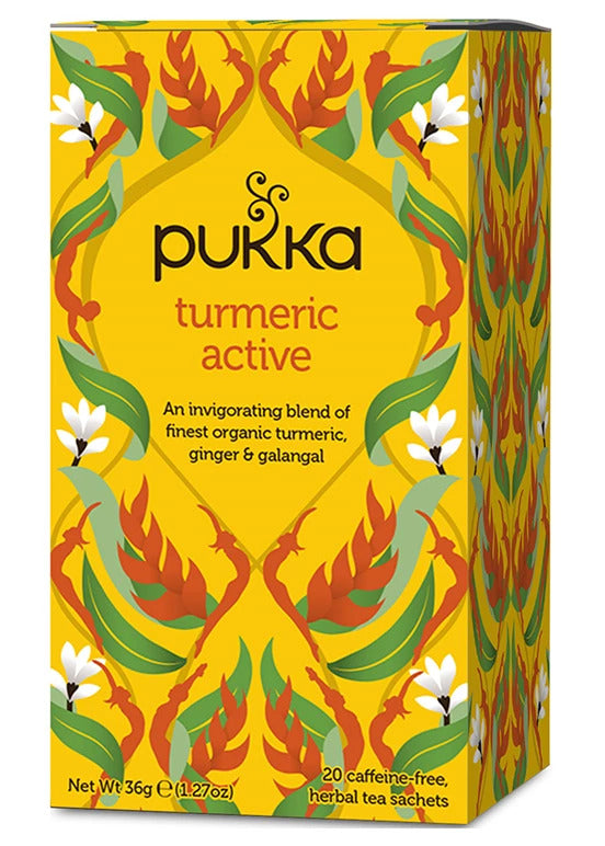 Pukka - Turmeric Active Tea 4 Box Pack