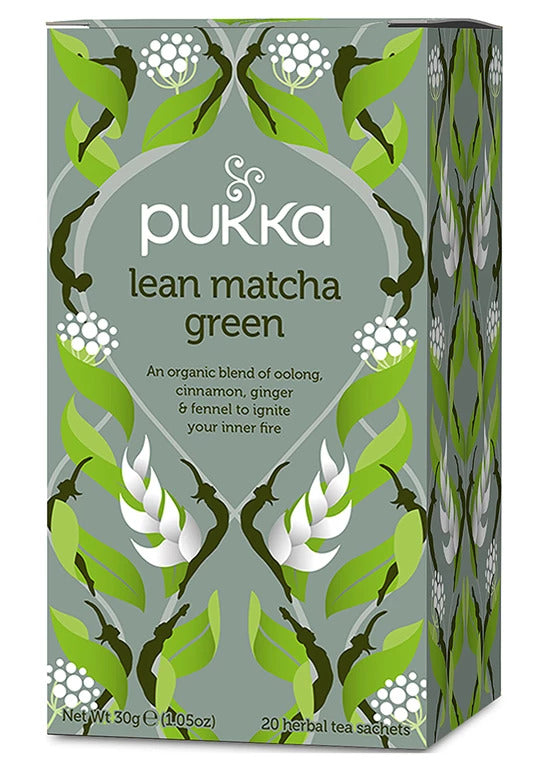 Pukka - Lean Matcha Green Tea 4 Box Pack