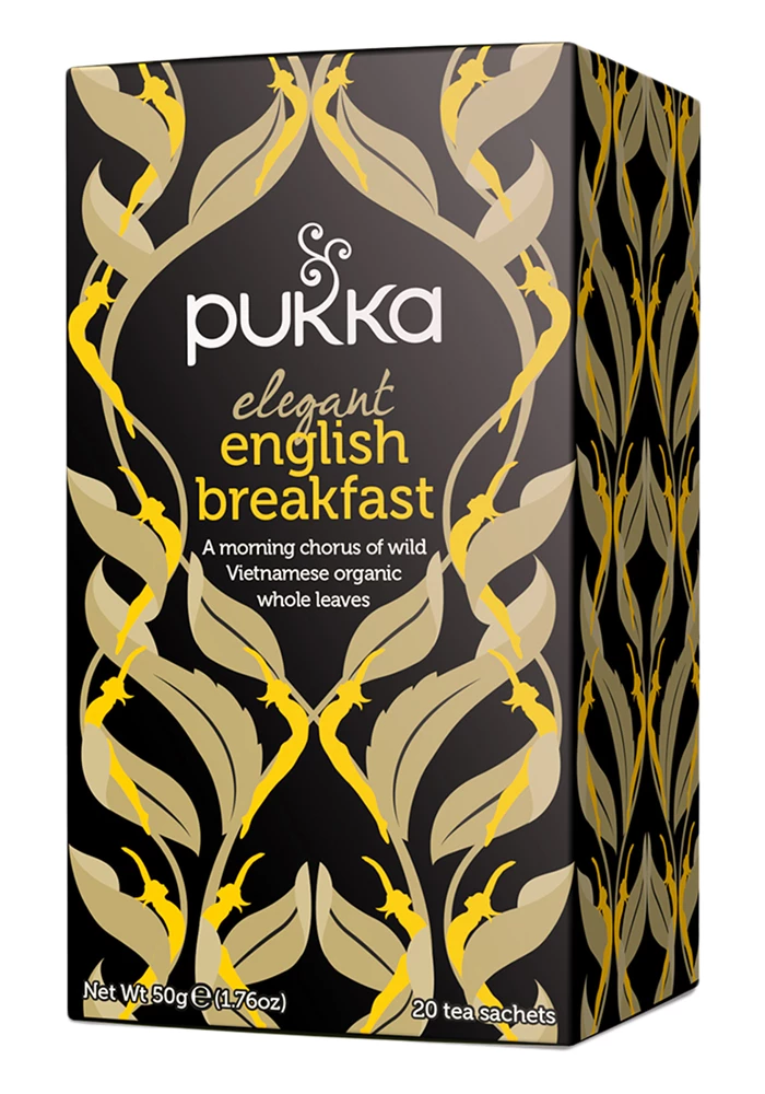 Pukka - Elegant English Breakfast 4 Box Pack