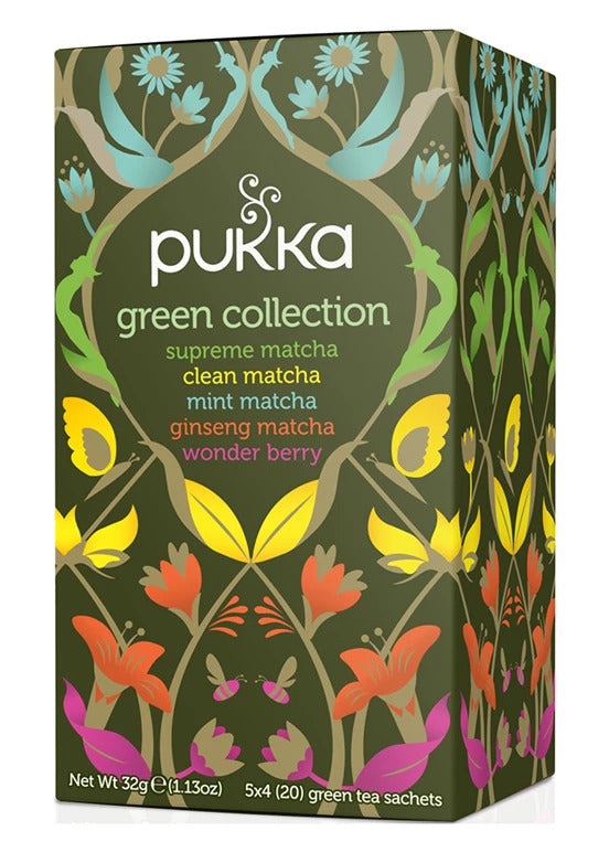 Pukka - Green Collection Tea 4 Box Pack