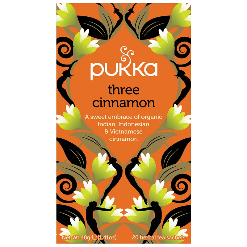 Pukka - Three Cinnamon Tea 4 Box Pack