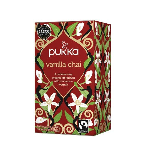 Pukka - Vanilla Chai Tea 4 Box Pack