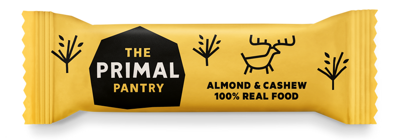 Primal Pantry - Almond & Cashew Paleo Bar 18 pack