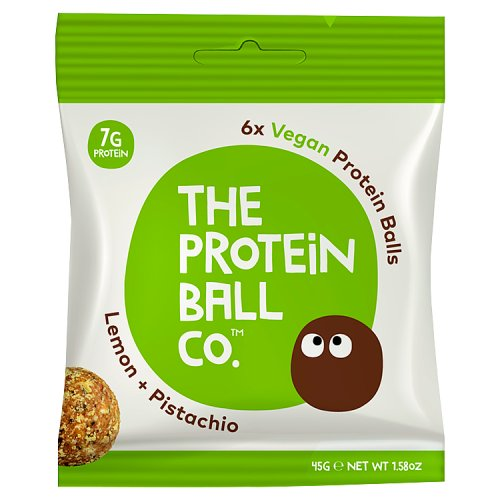 The Protein Ball Co - Lemon & Pistachio Protein Balls 10 sachets pack