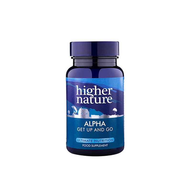 Higher Nature - Alpha Lipoic Acid 100mg/Carnitine 2