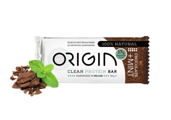 Origin - Chocolate & Mint Clean Protein Bar 16 pack