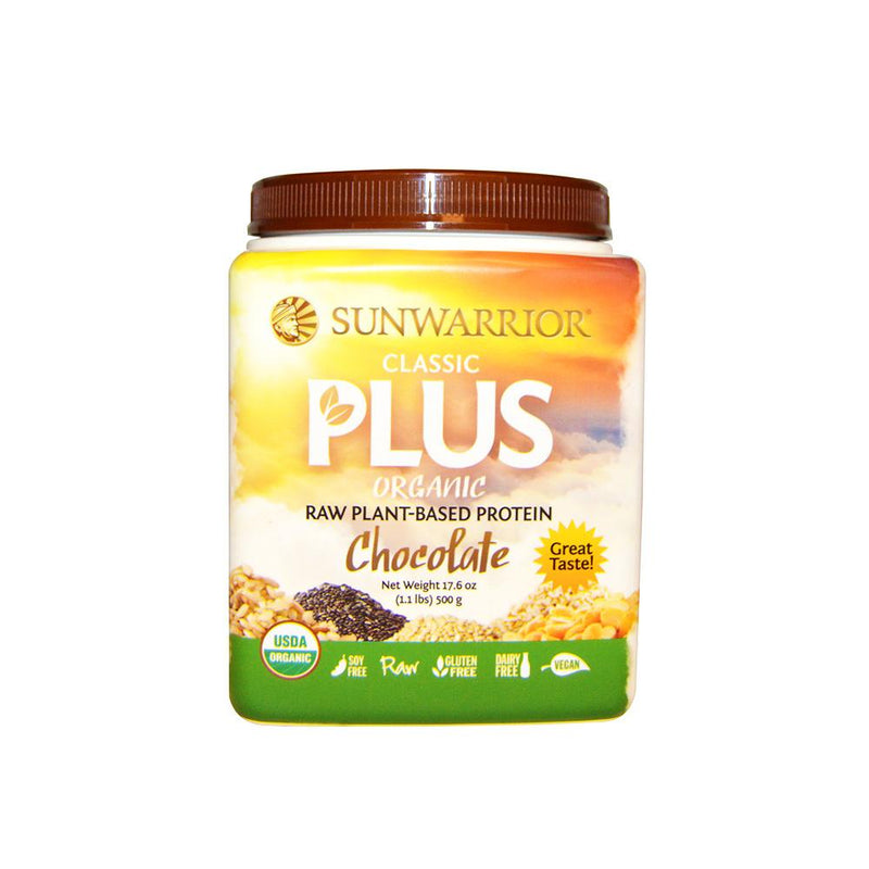 Sun Warrior - Classic Plus Protein Chocolate