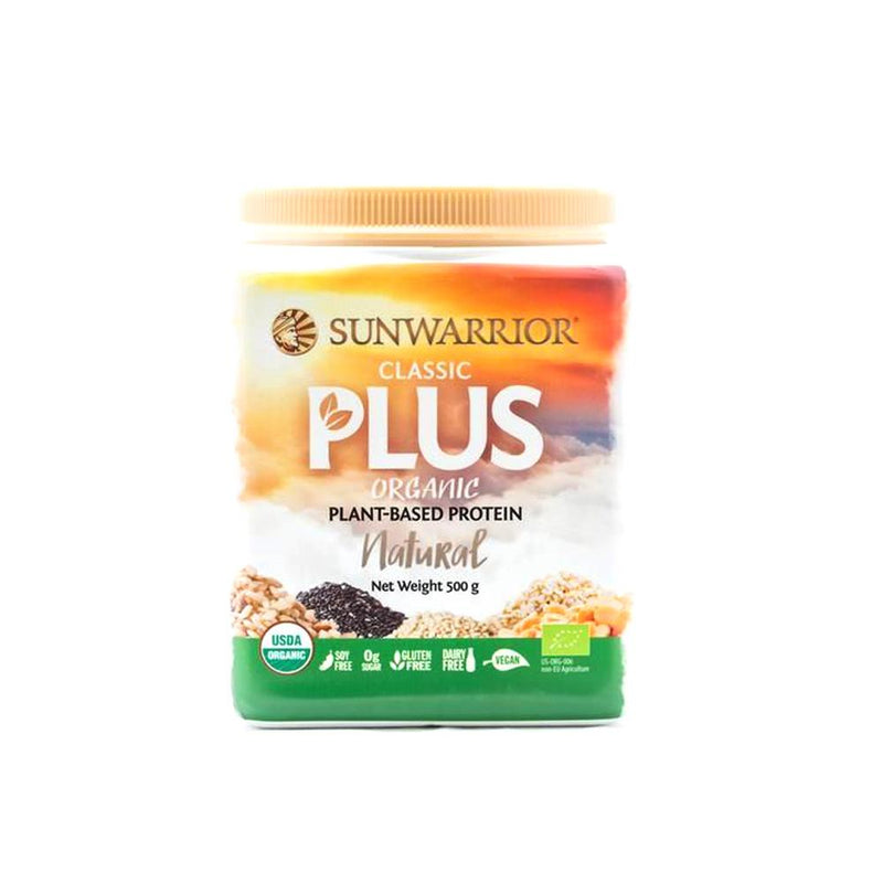 Sun Warrior - Classic Plus Protein Natural Bulk