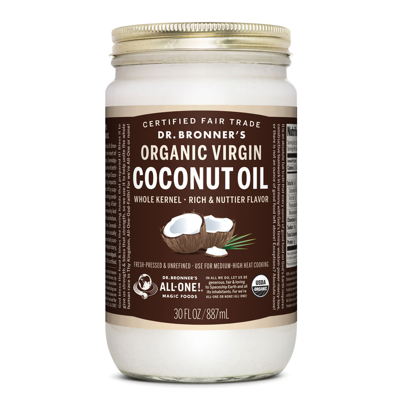 Whole Kernel Organic Virgin Coconut Oil