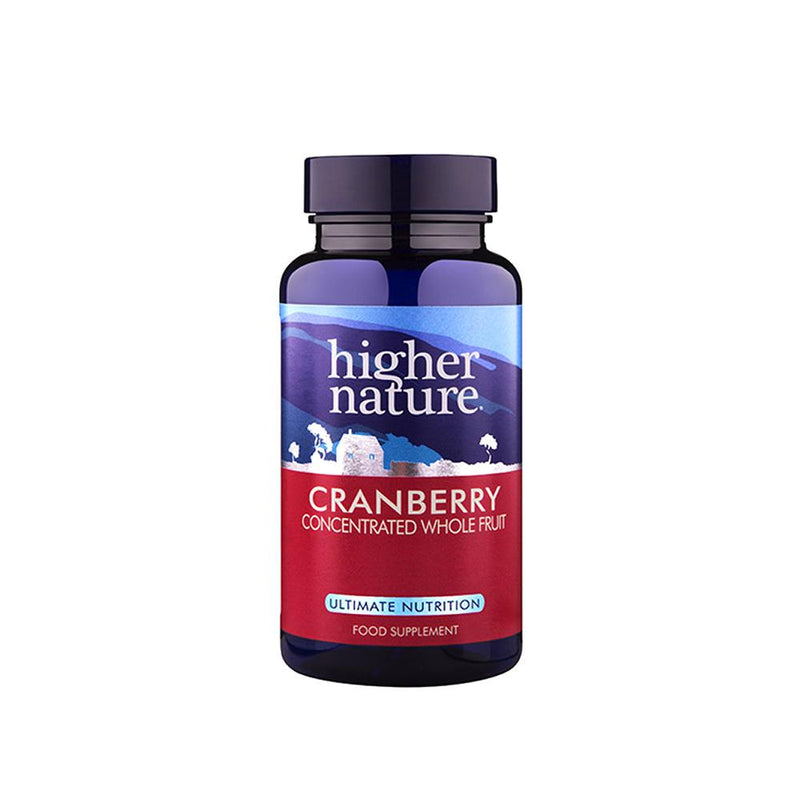 Higher Nature - Cranberry Super Strength Caps