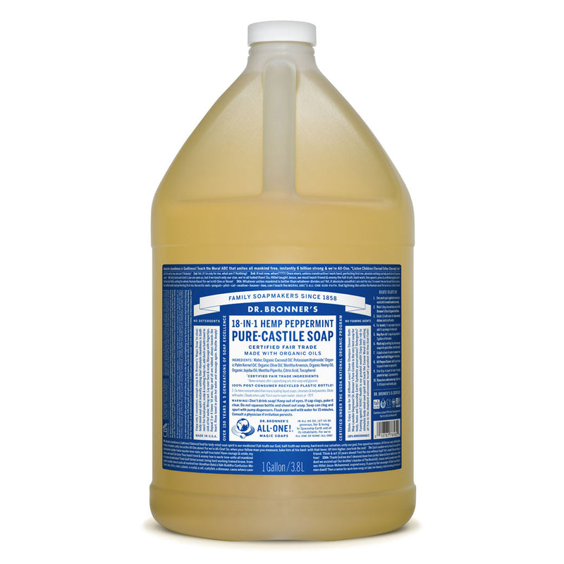 Dr. Bronner's Pure-Castile Liquid Soap - Peppermint Bulk