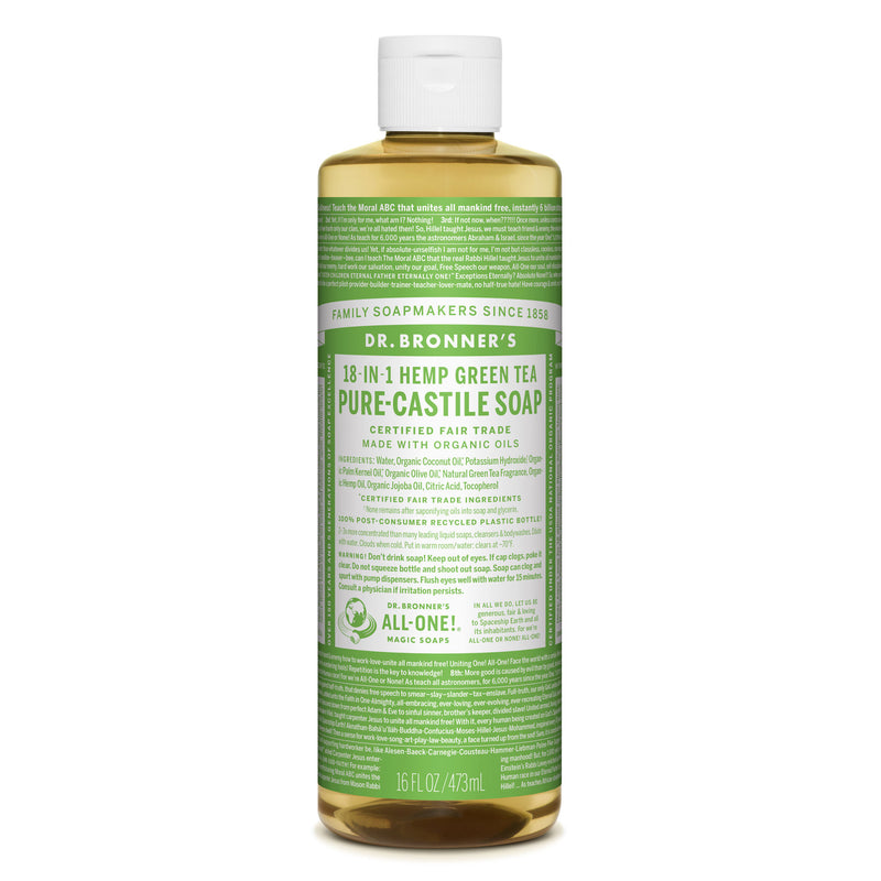 Dr. Bronner's Pure-Castile Liquid Soap - Green Tea Bulk