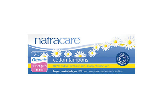 Natracare	Cotton Tampons Super Plus (Org)	12x20Pce