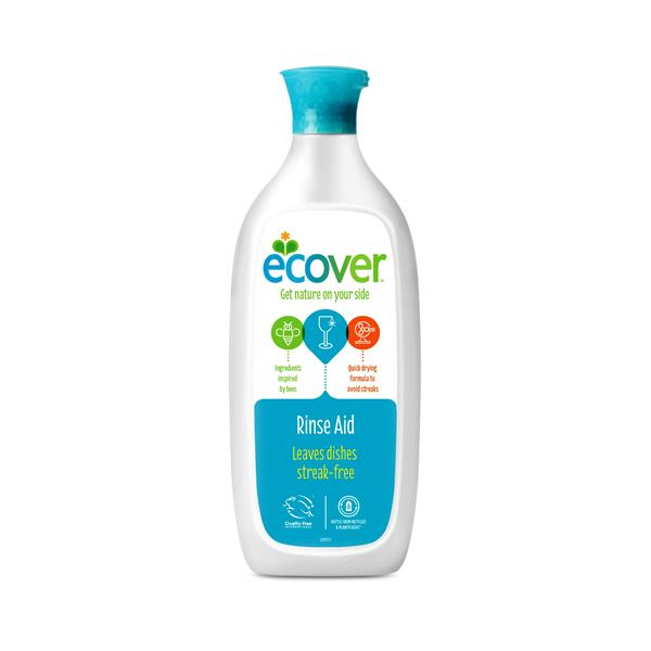 Ecover	Dishwash Rinse Aid 	12x500ml