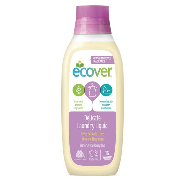 Ecover	Delicate Laundry Gel	8x750ml