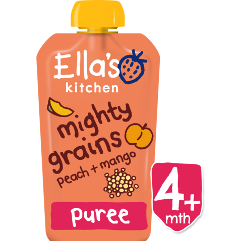 Ellas Kitchen	Mango Peach Amaranth (Org)	7x120g