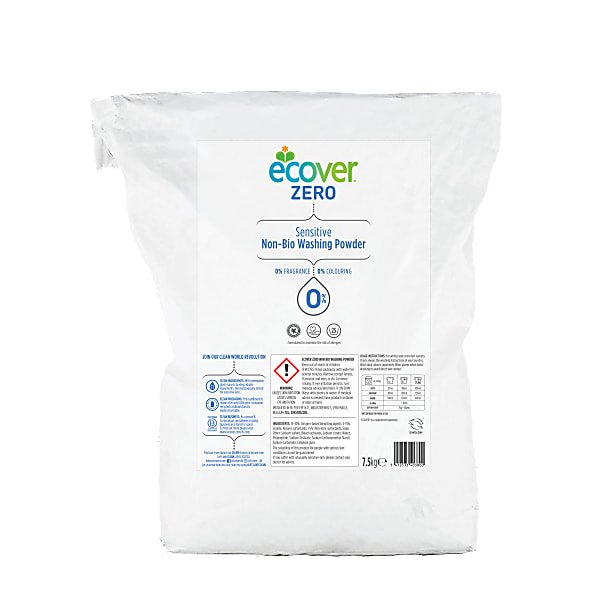 Ecover	Washing Powder Zero 100 Wash	1x7.5kg