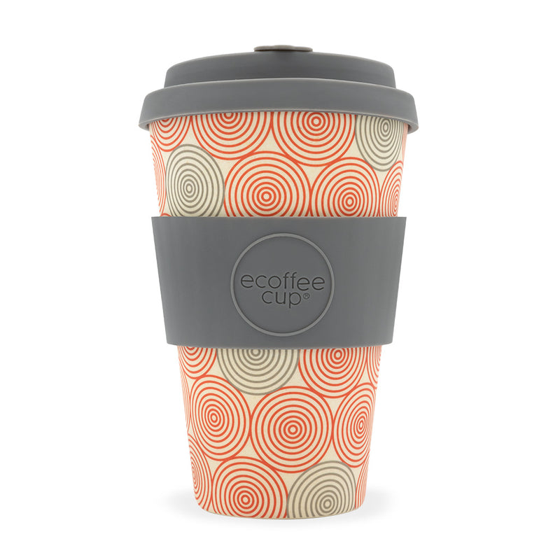 ECoffee Cup	Swirl Design	- 14oz