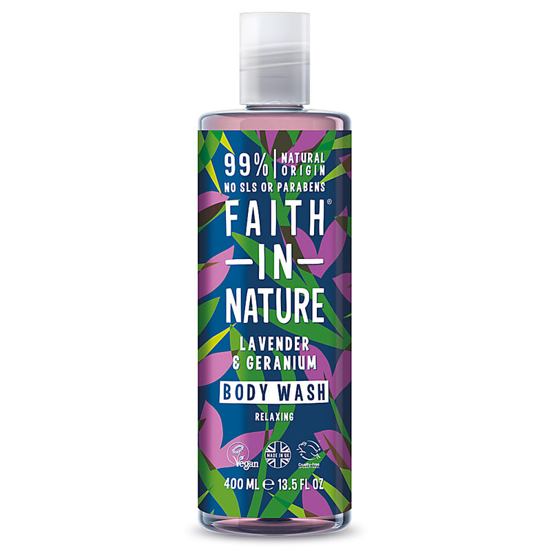 Faith In Nature - Lavender & Geranium Foam Bath 400mL
