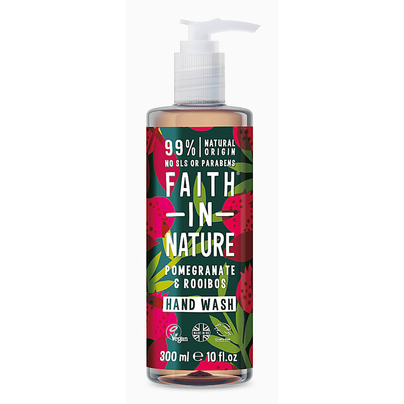Faith in Nature - Pomegranate & Rooibos Hand Wash 300ml